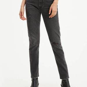 Levi's 501 Skinny Women's Jeans - Black Stick